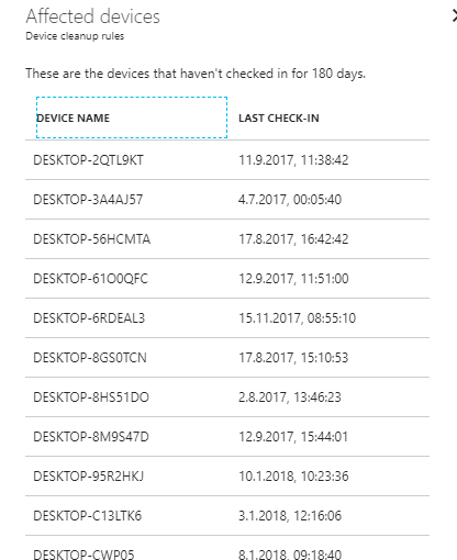 Intune - Device cleanup rules - Simon Scharschinger